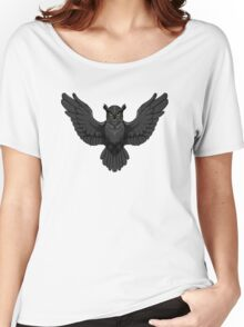 Owl in the dark Women's Relaxed Fit T-Shirt