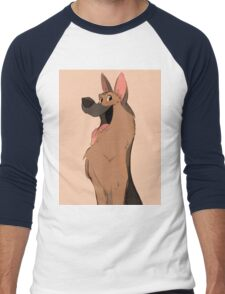 German Shepherd Love Men's Baseball ¾ T-Shirt