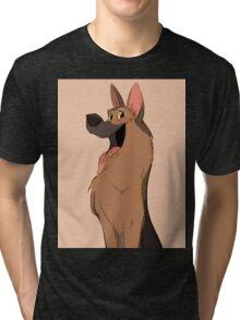 German Shepherd Love Tri-blend T-Shirt