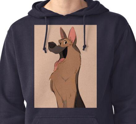 German Shepherd Love Pullover Hoodie