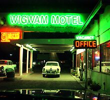 Wig Wam Motel by gailrush