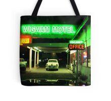 Wig Wam Motel Tote Bag