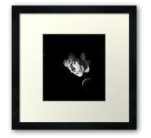 Peter Murphy, Bauhaus Framed Print