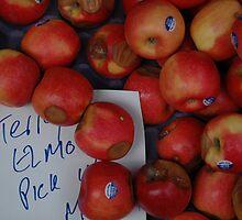 Apples on the spot. by Diego Marando