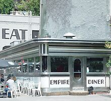 Empire Diner, NY by gailrush