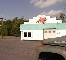 Texaco with Truck by gailrush