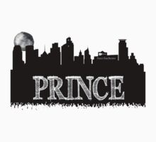 Prince Rogers Nelson - Minneapolis black and white Kids Clothes