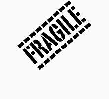 Fragile - Black Lettering, Funny Unisex T-Shirt