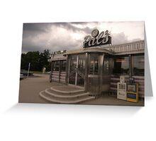 Pal's Diner, Grande Rapids, Michigan Greeting Card