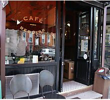 Cafe Regular, Park Slope, NY Photographic Print