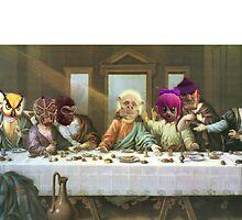 GTA 5 -last supper  by iamadamski