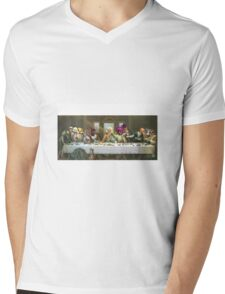 GTA 5 -last supper  Mens V-Neck T-Shirt