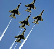 Thunderbirds in Formation by Topps