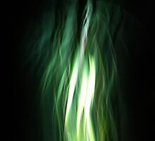Abstract Green Light by Ollie Coghill