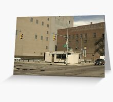 Eire & Monroe, Michigan Greeting Card
