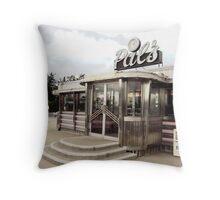 Pal's Diner, Grande Rapids, Michigan Throw Pillow