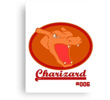 Team Charizard Canvas Print