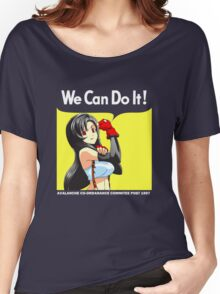 We Can Do It Cloud! Women's Relaxed Fit T-Shirt