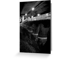 Leaving on the last train... Greeting Card