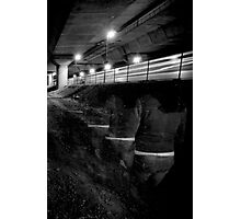 Leaving on the last train... Photographic Print