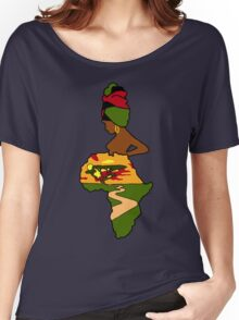 Mother Africa  Women's Relaxed Fit T-Shirt