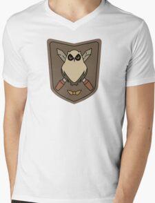 Sora No Woto Owl Crest Mens V-Neck T-Shirt