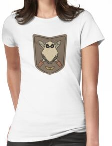 Sora No Woto Owl Crest Womens Fitted T-Shirt