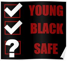 Young, Black, Safe? (I Can't Breathe) Poster