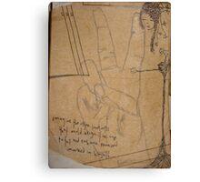 melody Canvas Print