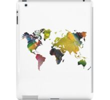 New world map iPad Case/Skin