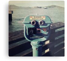 Viewing Alcatraz Metal Print