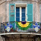 New Orleans, Louisiana; Mardi Gras, French Quarter by Carol M.  Highsmith