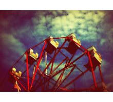 Wheel in the Sky Photographic Print