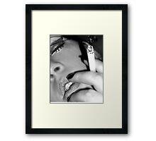Smokin' Hot Framed Print