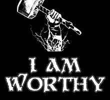 I am worthy by Pichins Creations