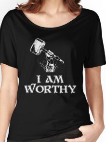 I am worthy Women's Relaxed Fit T-Shirt