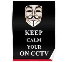 Keep Calm V for Vendetta Poster
