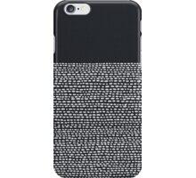 Riverside Black iPhone Case/Skin
