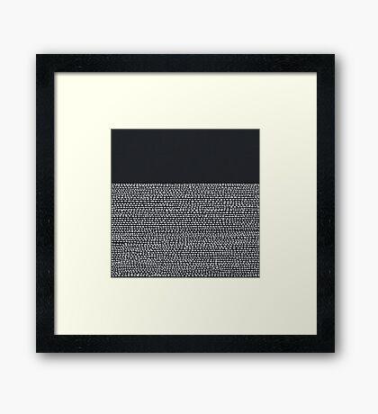 Riverside Black Framed Print