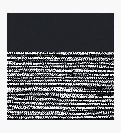 Riverside Black Photographic Print