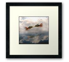 Vague Earthly Vapours Framed Print
