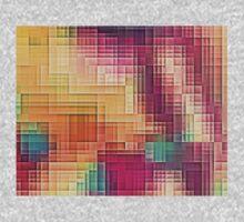 Colored Tetris Kids Tee