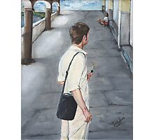 THE AMERICAN TOURIST/Oil on canvas Photographic Print