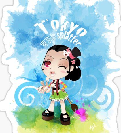 Tokyo Splatter Sticker