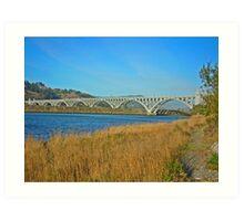 Isaac Patterson Bridge Art Print