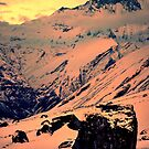 Standing amongst giants, Annapurna Sanctuary by John Spies