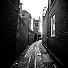 Approaching St Andrew's Church by Alexander Meysztowicz-Howen