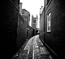 Approaching St Andrew's Church by Alex Howen