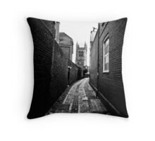 Approaching St Andrew's Church Throw Pillow