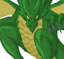 Green Dragon Sticker